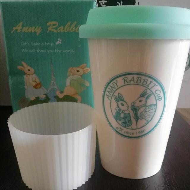 安妮兔單層瓷杯3件套