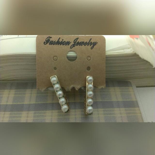 (轉售)韓系耳環