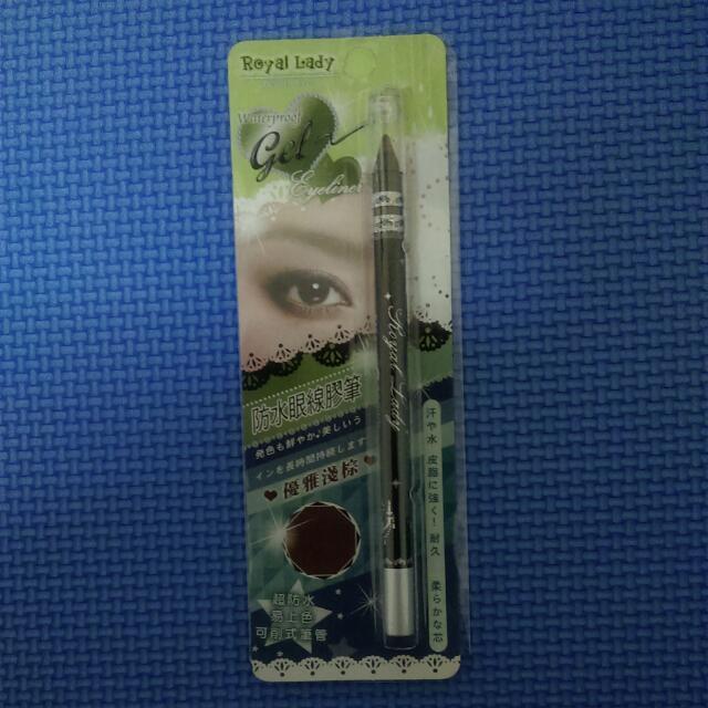 棕色 防水眼線膠筆