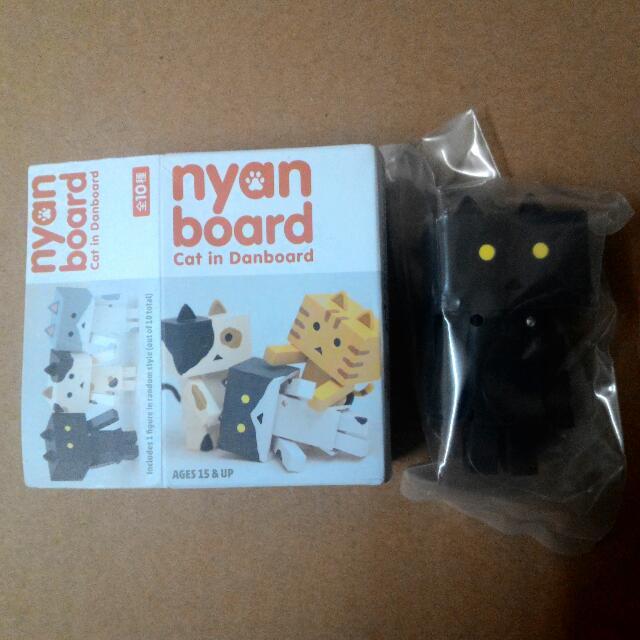 貓咪 阿楞 阿愣 盒玩