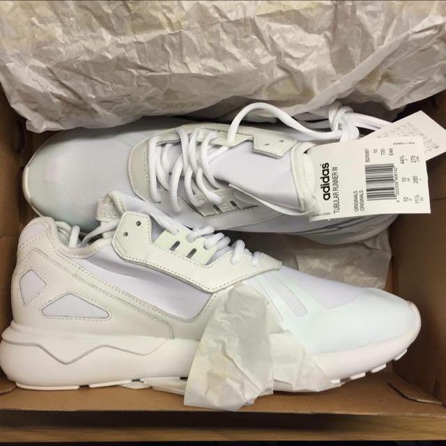 adidas tubular runner 白色 27.5cm