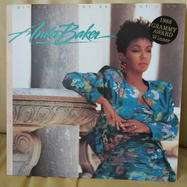 Anita Baker LP Vinyl - Giving You The Best That I Got
