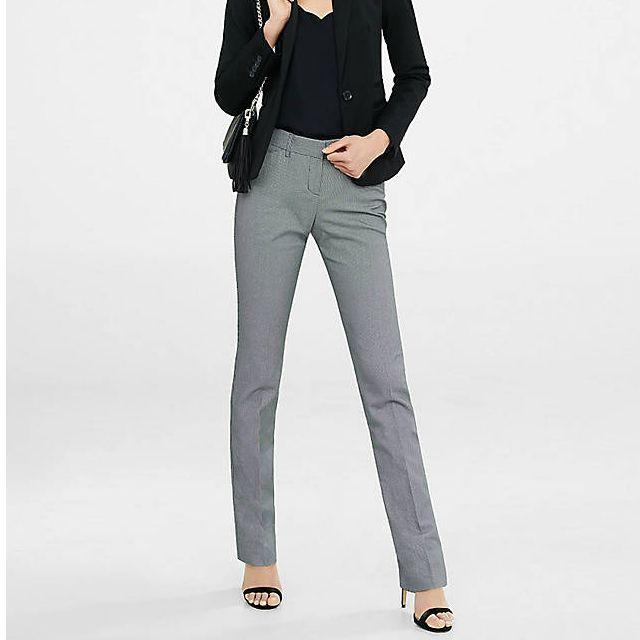Brand New with Tag Birdseye Express Slim Leg Editor Pant Size 2 Short