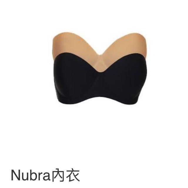全新/BRNANA NUBRA內衣/黑 膚色 75D👙
