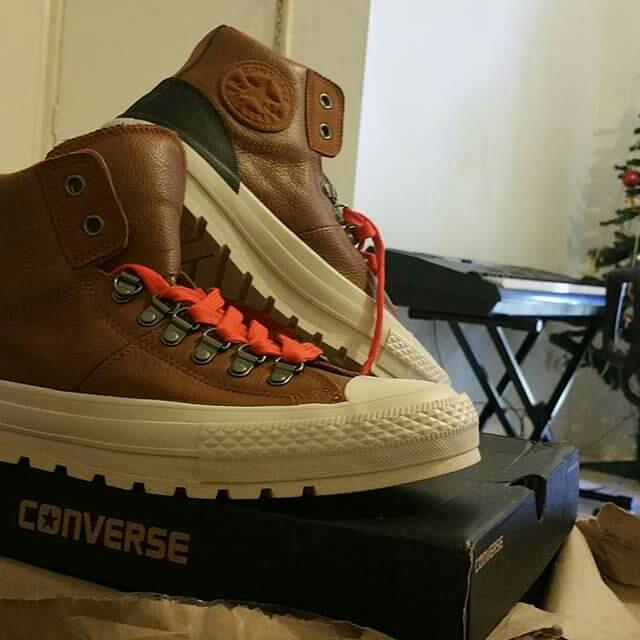 Brown Converse, Only Worn Around The House , Bought Online For $120 Selling For $80 Only Because Its The Wrong Size , Size 9.5 Women