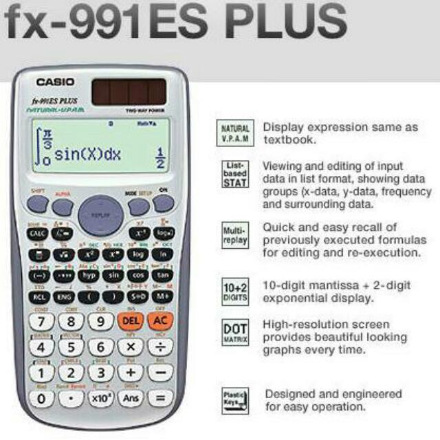 NO STOCK* NEW Casio FX-991ES (991) PLUS Scientific