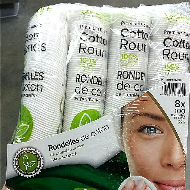 Costco 進口化妝棉