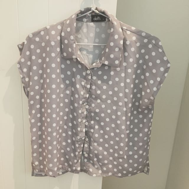 Dotti Button Up Shirt Size 6