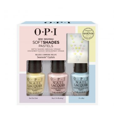 MAKE AN OFFER: NEW OPI Pastels Trio + Swarovski Pack