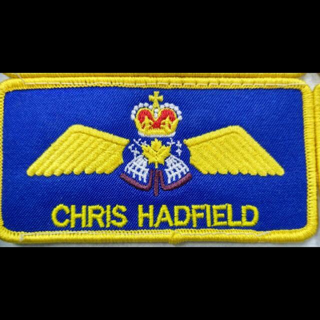 nasa csa canadian astronaut chris hadfield flight suit