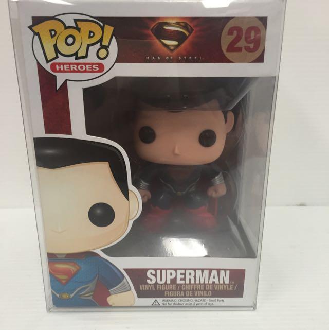 Pop Vinyls Man Of Steel Superman 29