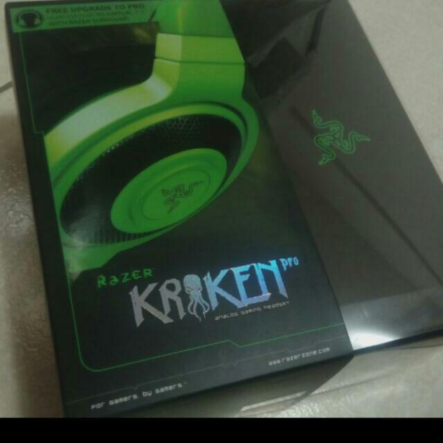 雷蛇Razer 北海巨妖 Pro綠 電競耳機
