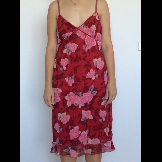 Rose Cocktail Dress