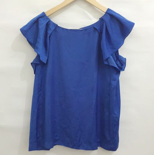 The Executive Electric Blue Office Tops