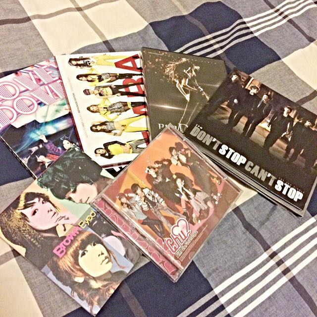 Throwback K-POP CDs