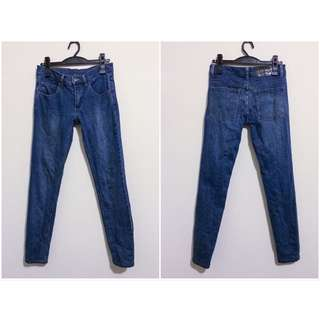 Cheap Monday 藍色 超窄牛仔褲