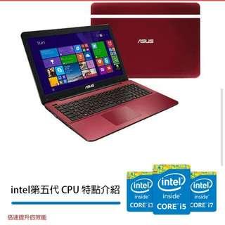 "ASUS X555LF 15.6""/I5-5200U/WIN10(全新保固非福利品)"