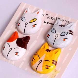AD03-004 Japanese Cat Fridge Magnet / Tempelan Magnet Kulkas Kucing