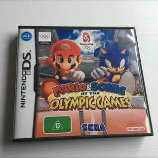 Mario & Sonic At The Olympic Games, Nintendo DS