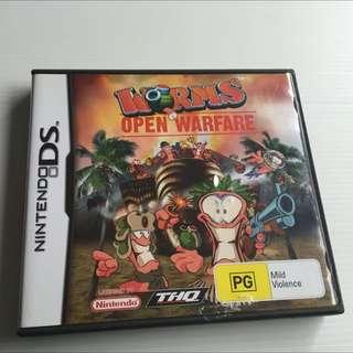 Worms Open Warfare, Nintendo DS