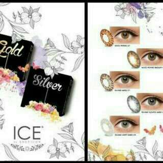 SOFTLENS X2 ICE GOLD SILVER