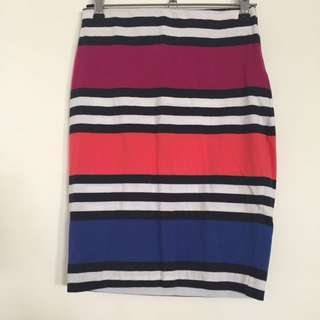 French Connection Stretchy Skirt (size 8)
