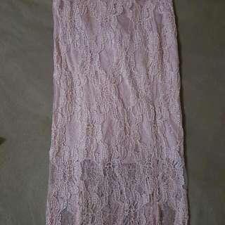 Lacey Pink KimK Skirt