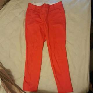 COUNTRY ROAD Orange Pants Size 6