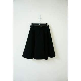 實穿示意圖🌟復古黑色中長裙