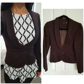 Tailored Suit Jacket From CUTE Size S