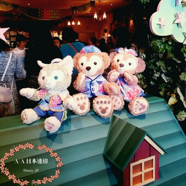 日本東京海洋迪士尼15週年限定 Ss號玩偶含衣服。一對優惠價格區~可任選隻