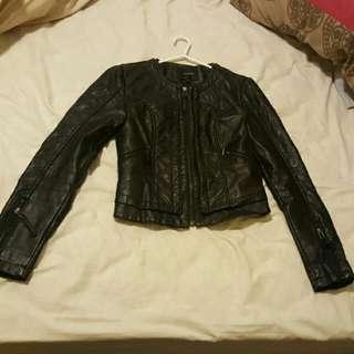 Portmans Size 8 Leather Jacket