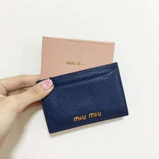 Authentic Miumiu Card Holder