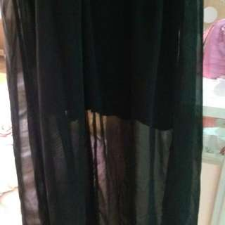 豹紋縮腰連身裙