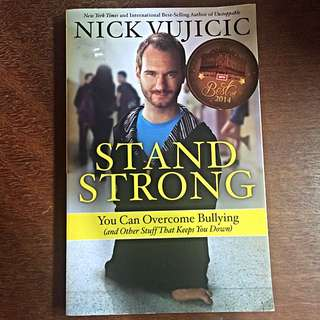 (✔️ Post) Stand Strong by Nick Vujicic