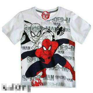 🚚 仿韓Spider-Man T   大童