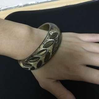 復古歐美葉子手環