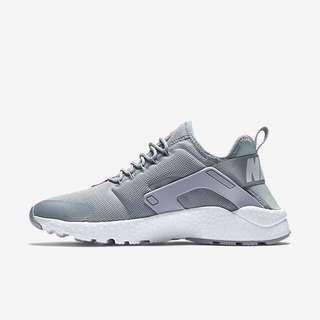 日本代購 Nike Huarache Run  武士鞋 銀灰色