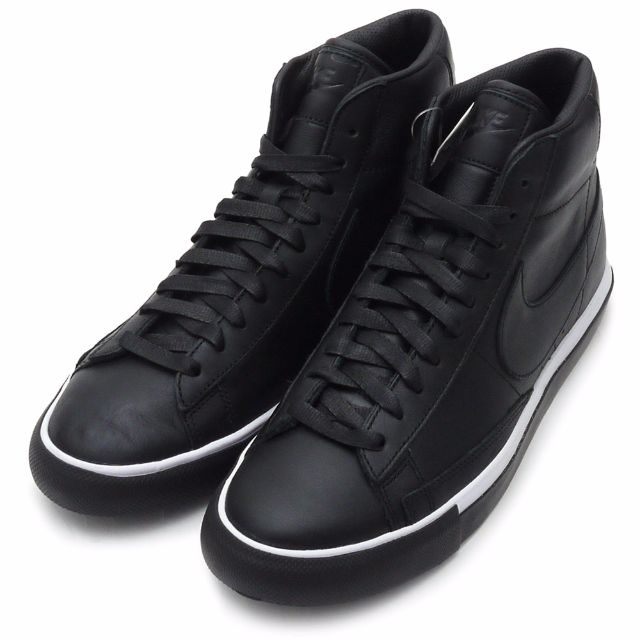 93599e17aee0 ... clearance cdg black comme des garcons x nike blazer high men us10 mens  fashion footwear sneakers ...