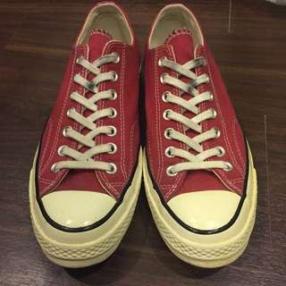 Converse 1970 紅色 US8.5=27cm