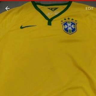 Original Brazil World Cup 2014 Jersey Size S