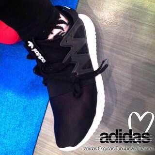 Adidas Tubular 黑色 日本公司貨
