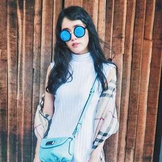 6ixty 8ight 時尚圓形太陽眼鏡 模特兒推薦款