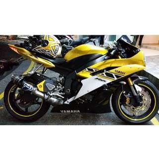 Yamaha YZF-R6 50th Anniversary Edition 2006 (Yellow)