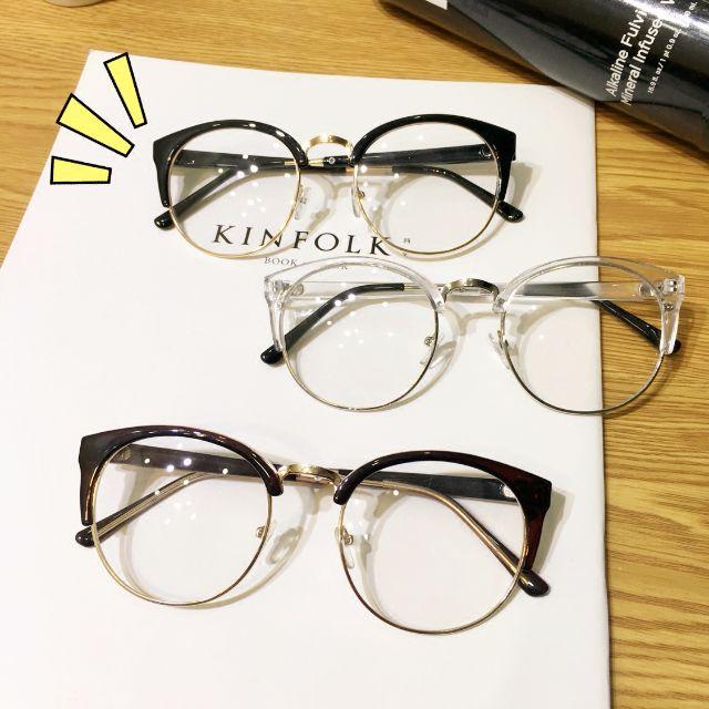 ♩復古古著文青金屬框眼鏡3款(預購)