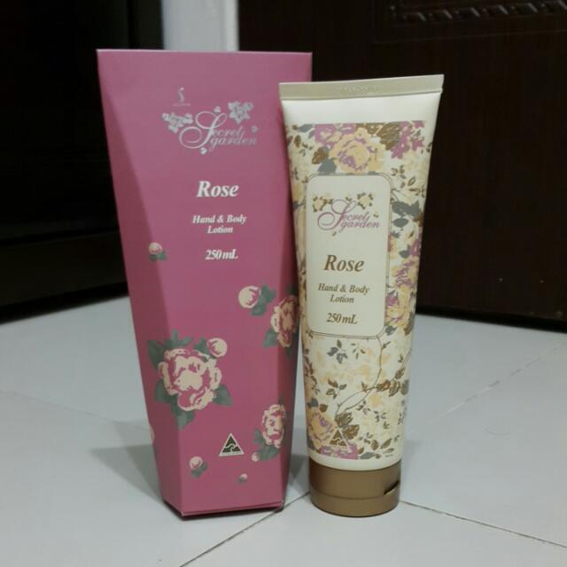 澳洲玫瑰精油護手身體乳