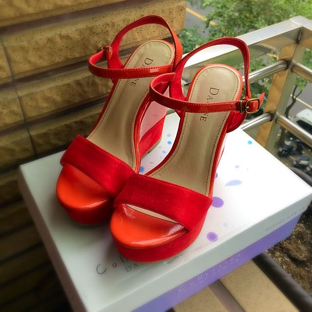 達芙尼楔形高根鞋