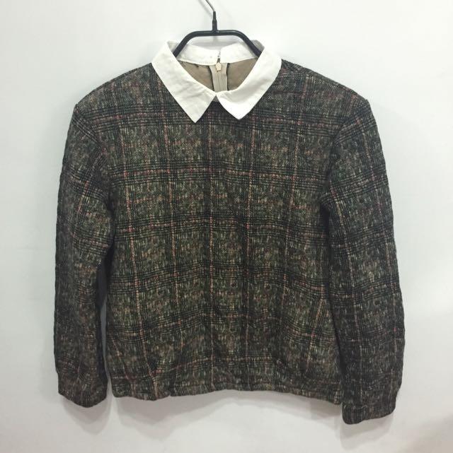 全新 假兩件毛衣