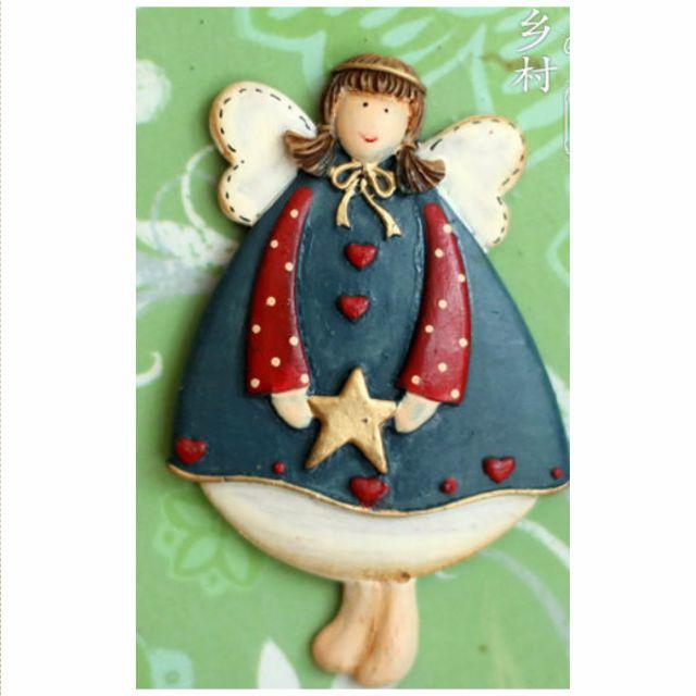 AD03-006LS Colorful Star Angel Fridge Magnet /Tempelan Kulkas Malaikat