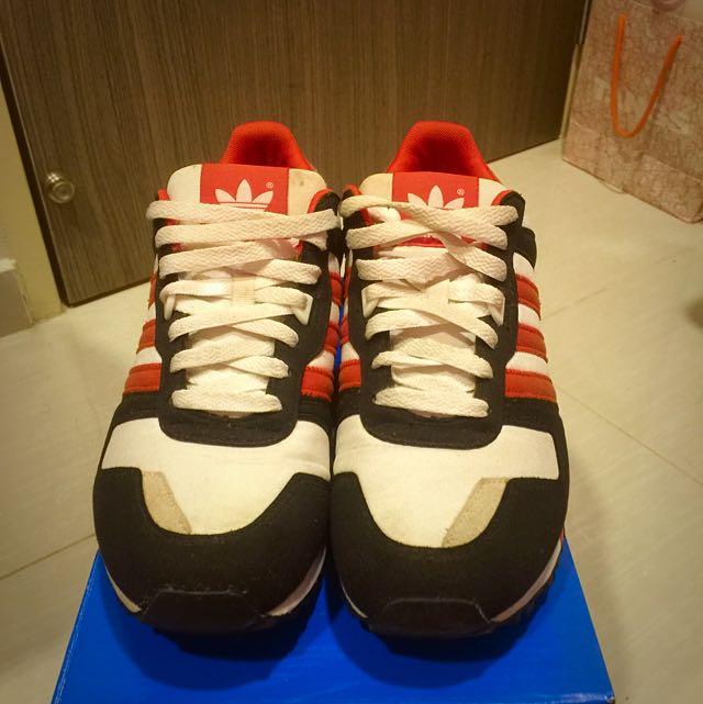 official photos 012d0 4a9b5 adidas ZX 700 White Orange Black, Men s Fashion on Carousell